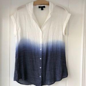 Blue + White Ombre BCX Buttondown